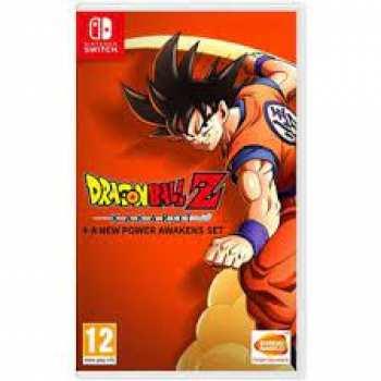3391892015911 Dragon Ball Z Kakarot FR Switch