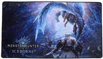 4260434770412 Tapis De Souris XL - Monster Hunter World Iceborn