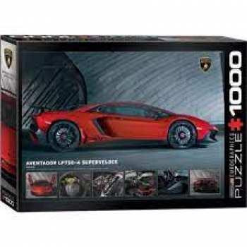 628136608718 Puzzle Eurographics 1000 Pieces Lamborghini Aventador Lp
