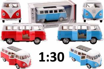 8711866260980 vehicule miniature bus - wolkswagen T1 -  1 3