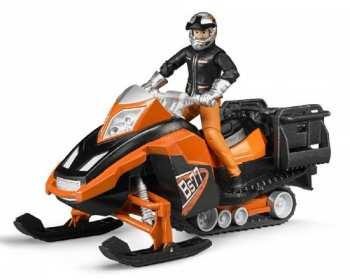 8719904201452 Vehicule Miniature Moto Des Neiges