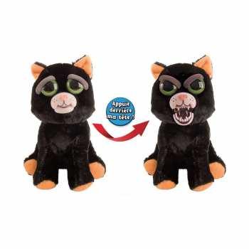 8711808323254 Peluche Feisty Pets Chat Noir Du Desepoir