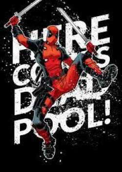 5902710102317 DEADPOOL MERC - MAGNETIC METAL POSTER 15X10 - Deadpool