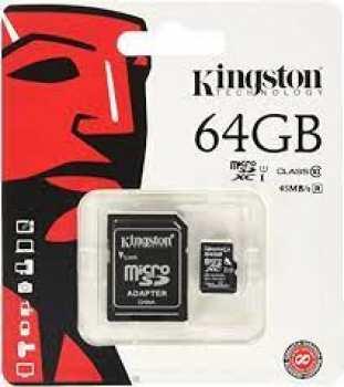 5510108755 Carte Micro Sd Kingston 64 Gb