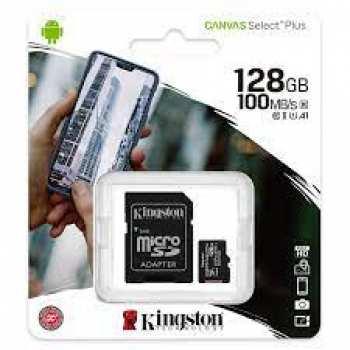 740617299076 Carte Micro Sd 128 Gigas Kingston