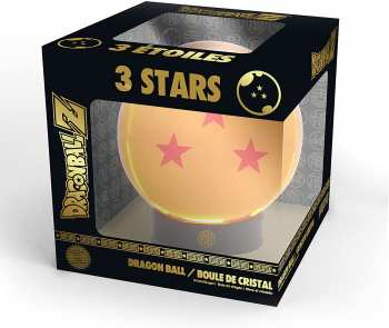 3665361049487 Dragon Ball Boule  De Cristal 3 Etoiles Avec Socle