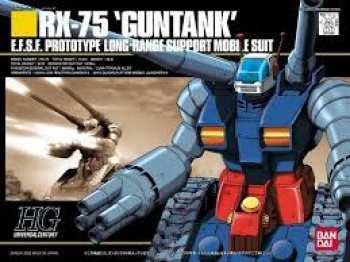 4573102568304 GUNDAM - HGUC 1/144 RX-75 GUNTANK E.F.S.F. MOBILE SUIT - MODEL KIT