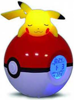 3760158113546 Radio-Reveil lumineux pikachu