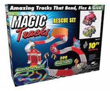 735541907234 Magic Rescue Tracks (Glows) Police Et Pompiers Set