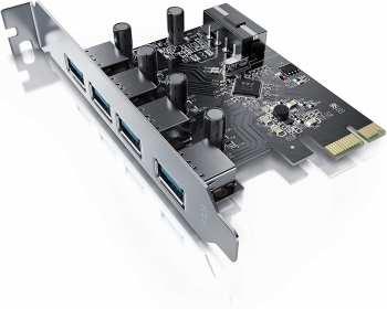 5510108773 Carte PCIe Express USB 3.0 4 Ports
