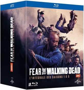5053083205461 Fear The Walking Dead Integrale Saison 1 A 5 FR BR