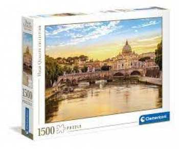 8005125318193 Puzzle Clementoni - Rome - 1500 Pieces