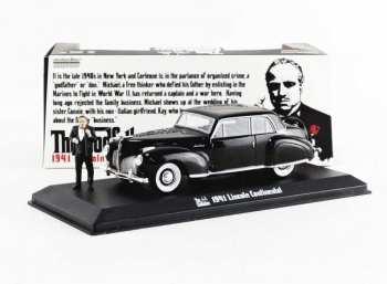 8197250246684 Voiture miniature La Parrain (The Godfather) 1941 Lincol Continental 1:43
