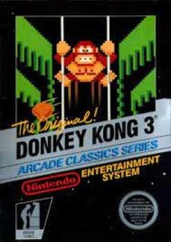 5510108799 Donkey Kong 3 FR NES