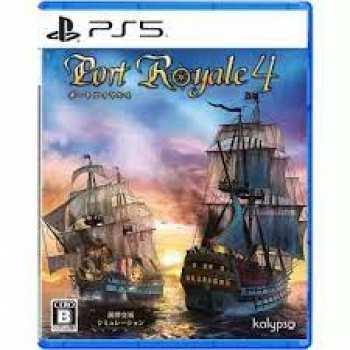 4020628679910 Port Royale 4 (Boite Anglaise) FR PS5