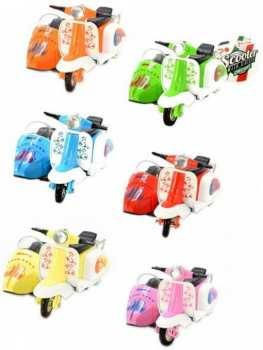 8714627218503 Jouet Miniature Vespa Avec Sidecar