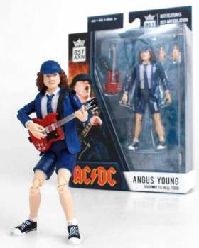 850795008961 Figurine Bst Ac Dc Angus Young 13 Cm ( Highway To Hell)