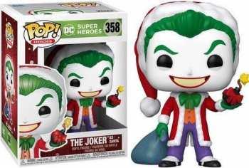 889698510714 Figurine Funko Pop - Dc Super Heroes 358 - The Joker As Santa