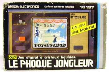 5510108843 Jeu Electronique anne 80 Bandai Electronics Ottosei Land Le Phoque Jongleur