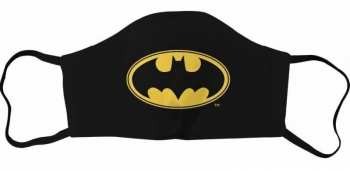 3664794203848 Masque Visage Adulte - Batman - Logo