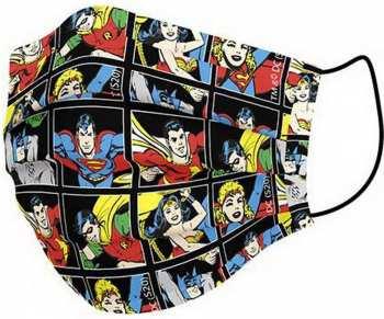 8427934552924 Masque Visage Adulte - DC Comics