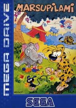 4974365618414 Sega Mega Drive Marsupilami