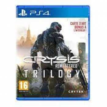 884095200855 Crysis Trilogie Remastered FR PS4