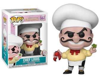 5510108875 Figurine Funko Pop - The Little Mermaid 567 - Chef Louis