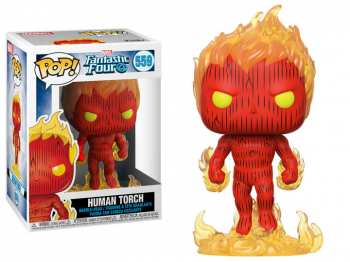 889698449878 Figurine Funko Pop - Fantastic Four 559 - Human Torch