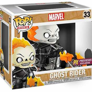 889698151078 Figurine Funko Pop - Marvel 33 - Ghost Rider