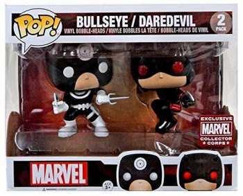 5510108879 Figurine Funko Pop - Marvel 2 Pack - Bullseye And Daredevil