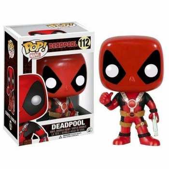 889698105248 Figurine Funko Pop - Deadpool 112 - Deadpool (Thumb Up)