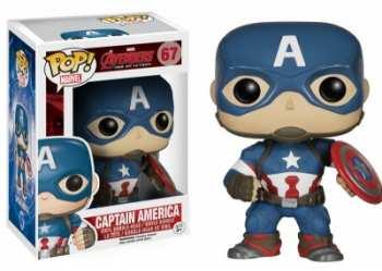 849803047788 Figurine Funko Pop - Avengers Age Of Ultron 67 - Captain America