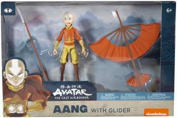 787926191011 vatar Le Dernier Maitre De L Air - Aang Avec Glider - Figurine Articulee 13cm
