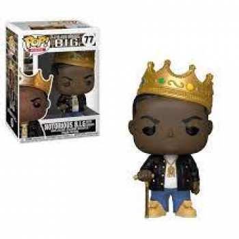 889698315500 Figurine Funko Pop The Notorious Big 77 Avec Couronne