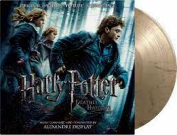 8719262011342 Harry Potter & The Deathly Hallows Pt. 1 Gold Black Double Vinyl 33t