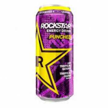 8710398521712 Canette Rockstar Energy Drink Punched Tropical Goyave 500ML