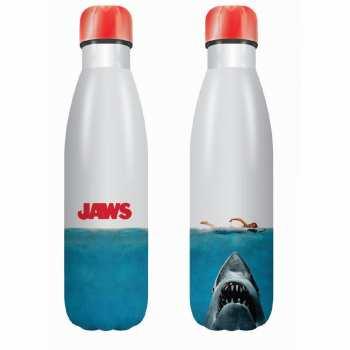 5055453484858 JAWS (Les Dents De La Mer) - Bouteille En Metal 500ml
