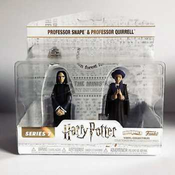 889698305136 Figurine Funko Hero World - Harry Potter - Severus Snape (Rogue) Et Quirrel