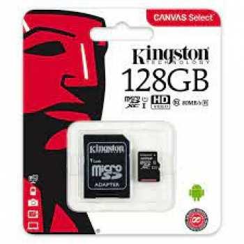 5510108935 Carte Micro SD 128 GB Avec Adaptateur Kingston