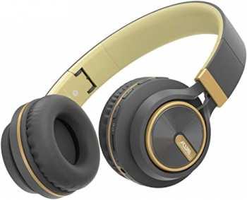 5510108956 cure Casque Bluetooth Sans Fil Gris-Dore