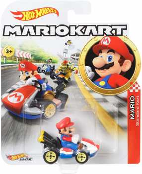 887961714449 Voiture Hot Wheels Mario Kart Mario