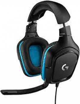 5099206082410 Casque Gaming Logitech G432 7.1  Pc / Ps4 / Xbox One