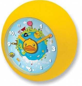 5404006022069 Horloge Murale Canard B Duck (aprends Les Heures Avec B Duck )