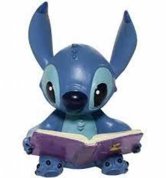 28399250097 Figurine Disney Traditions Lilo Et Stitch - Stitch Qui Li Un Livre