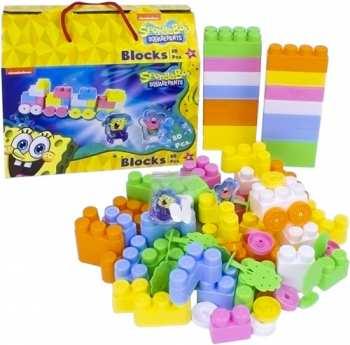 4250837601215 Block Sponge bob bob l eponge 80 pieces