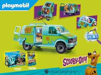 5510108989 Set  Van SCOOBY-DOO - MYSTERY MACHINE 'PLAYMOBIL'
