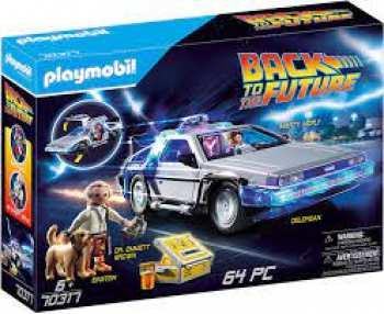 4008789703170 Retour Vers Le Futur - Delorean En Playmobil