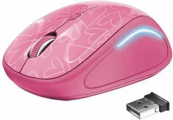8713439223361 Souris Sans Fils Trust Mouse Yvi Fx Rose