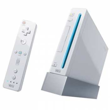 45496342074 Console Nintendo WII Blanche